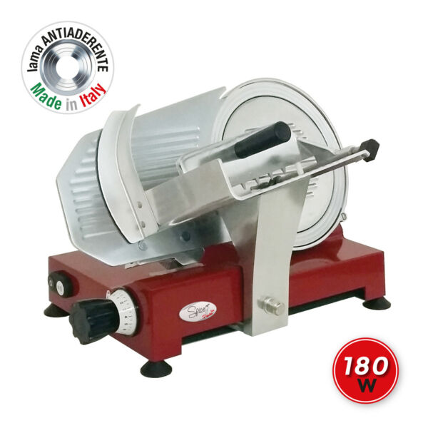 SPICE Paprika 250 affettatrice Professionale Lama Made in Italy 25 cm 180 W