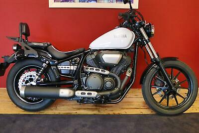 2016 YAMAHA XV950 CUSTOM - MINT CONDITION - ONLY 1798 MILES WITH BACKREST & RACK
