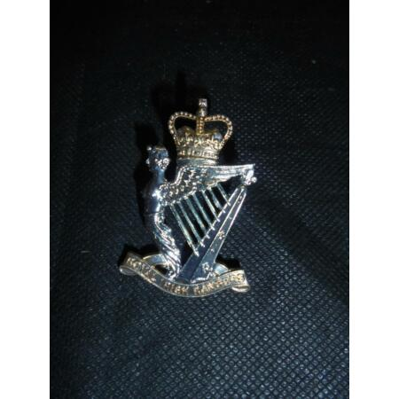 img-Authentique Armée Britannique Royal Irlandais Rangers Regiment Casquette Badge