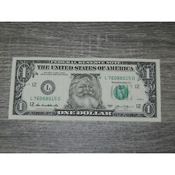 Kyпить The Santa Claus $1 Dollar Bill Real U.S. One Dollar Bill Money Santa Dollar New на еВаy.соm