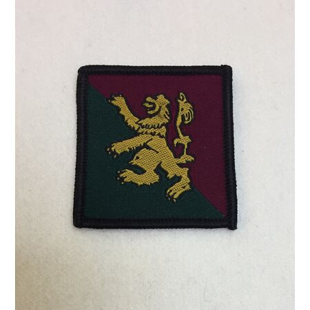img-51st Scottish Brigade Badge, Scots Lion MTP, Army Patch, Military, Hook Loop