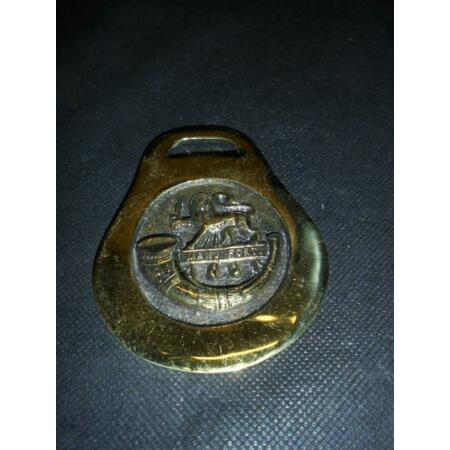 img-British Army Military The Herefordshire Light Infantry Horse Brass / Badge