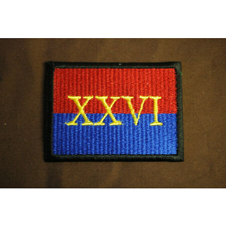 img-British Army - 26th Royal Artillery Regiment - Sew/Iron On Patch - No1342