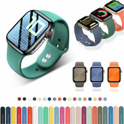 Silicone Sports Strap For Apple Watch iWatch 6/5/4/3/2/1 Bracelet 38/42/40/44mm