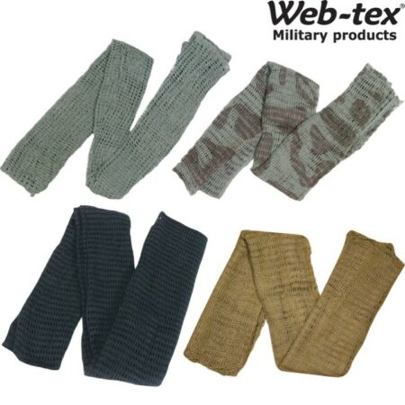 img-WEB-TEX MILITARY SCRIM NET SCARF ARMY SNIPER VEIL HUNTING SAS DISGUISE WIND SAND