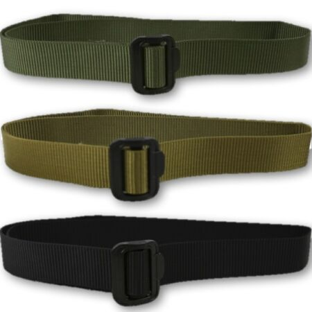 img-MILITARY TACTICAL WEBBING FAST BELT EXTREMELY TOUGH GREEN BLACK MENS ARMY POLICE