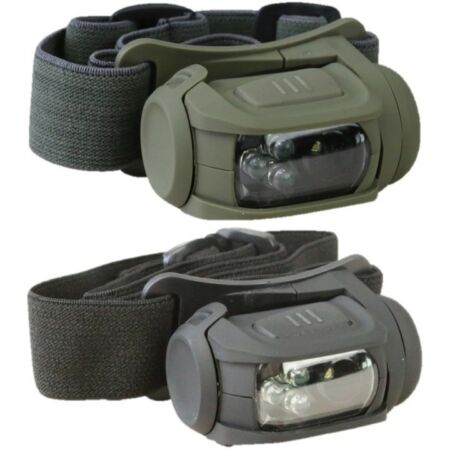 img-TACTICAL PREDATOR HEAD LAMP II LED HEAD TORCH WHITE RED LIGHT MOLLE CADET ARMY