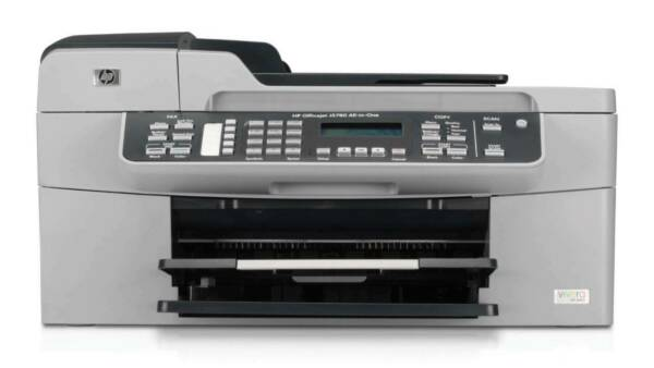 NEW HP Officejet Colour J5780 All-in-One Printer / Fax / Scanner / Copier 30 ppm