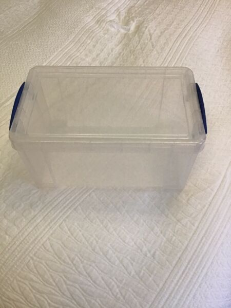 8 Litre Really Useful Storage Box Open Front - Clear