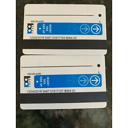 Kyпить Two $64 Bart Tickets ($128 Total) Free Shipping на еВаy.соm