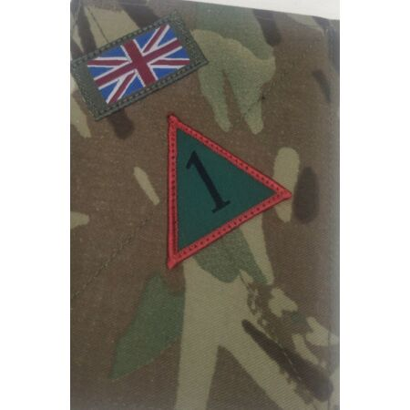 img-MTP Blanking Plates Patches with Brigade Badge, Army Military Panel Union Jack