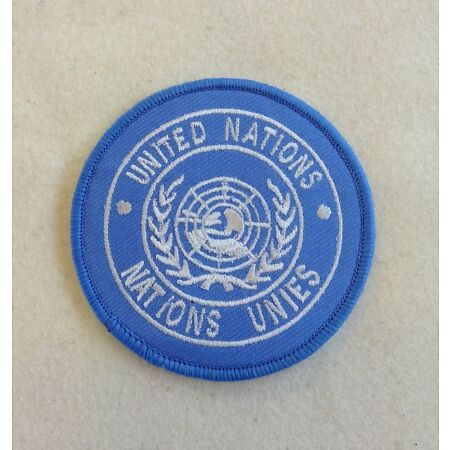 img-UN Shoulder Patch, United Nations, Army, Badge, TRF, Sew on & Iron On Version