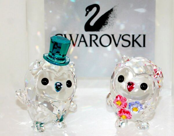 Singen,DeutschlandSwarovski Original Figur Hoot die Eulen: We are in Love  Neu 5428000
