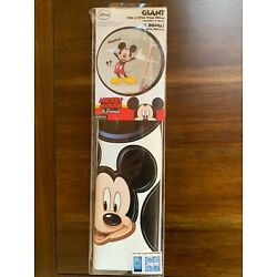 Giant peel and stick Mickey Mouse Wall Stickers 36.75x36.5