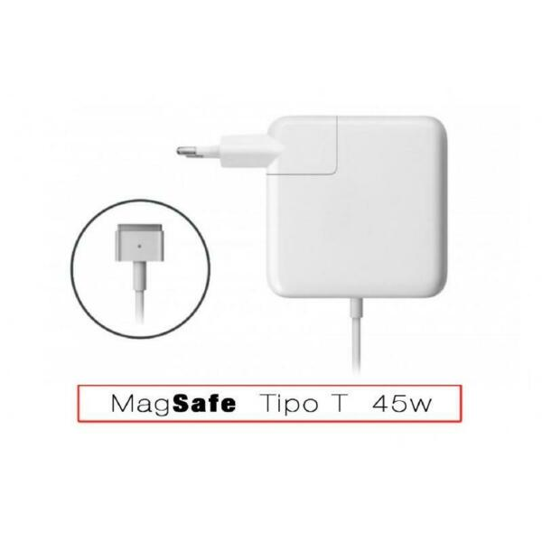 ALIMENTATORE MagSafe 2 45w CARICABATTERIE ADATTATORE COMPATIBILE PER MACBOOK AIR