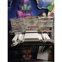 Kyпить Nintendo Wii Console - 2 sets controllers TESTED_GAMES_SHIPS SAME DAY_Gamecube на еВаy.соm