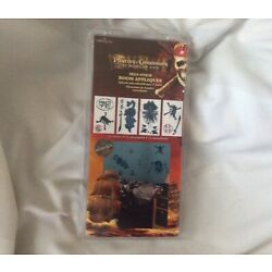 Pirates Of The Caribbean Self Stick Room Appliques New