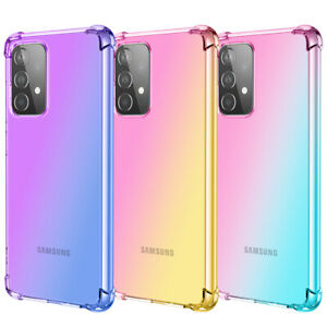 Case For Samsung S20 FE Ultra A21s A41 A51 A71 Shockproof Silicone Hybrid Cover