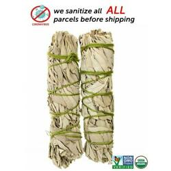 Kyпить White Sage Cali Smudge Stick SET OF 2 Certified Organic Made in USA на еВаy.соm