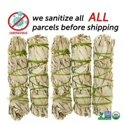 Kyпить White Sage Cali Smudge Stick SET OF 5 Certified Organic Made in USA на еВаy.соm