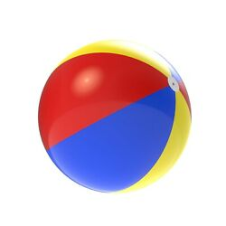 6 Ft Inflatable Beach Ball Giant Foot Ball Waterproof Large Pool Swimming Toys