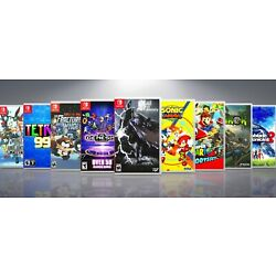 Kyпить Custom Nintendo Switch Covers and Cases: Titles S-Z. !! NO GAMES !! на еВаy.соm