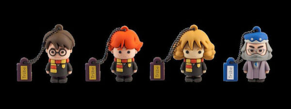Chiavetta USB Flashdrive Harry Potter Ron Weasley Hermione Granger Albus Silente
