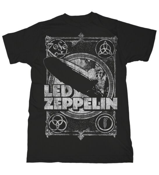 Royaume-UniLed Zeppelin Shook Me Jimmy Page Rock  Männer T-Shirt Herren