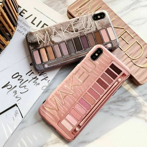Royaume-UniMakeup Eyeshadow Palette phone Case For iphone 11 11 Pro XS Max XR X XS 6 6s 7 8