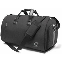 Kyпить 20 Inch Travel Bag with Suits and Shoes Compartment - Black на еВаy.соm
