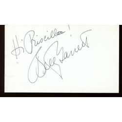 ALL IN THE FAMILY laverne & shirley BETTY GARRETT signed AUTOGRAPH 9858