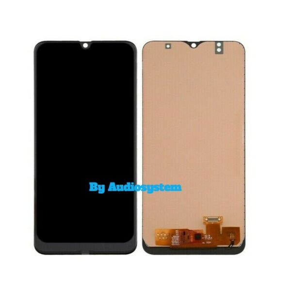 DISPLAY LCD+TOUCH SCREEN per SAMSUNG GALAXY A50 SM-A505FN/DS NERO VETRO SCHERMO