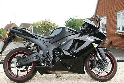 *NOW SOLD* 2008 Black Kawasaki ZX 6R P8F Sports Motorcycle *NOW SOLD*