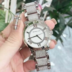 Kyпить MICHAEL KORS RITZ MK6722 GREEN STEEL BLUE DIAL CHRONOGRAPH WOMEN'S WATCH на еВаy.соm