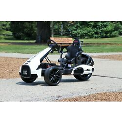 Kyпить First Drive Electric Go Kart 12V White - Electric Power Ride On Car на еВаy.соm