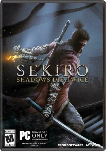 SEKIRO per PC - ORIGINALE COMPLETO ITALIANO - STEAM