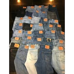 Lot of 20 pairs of Levi's Salvage Jeans