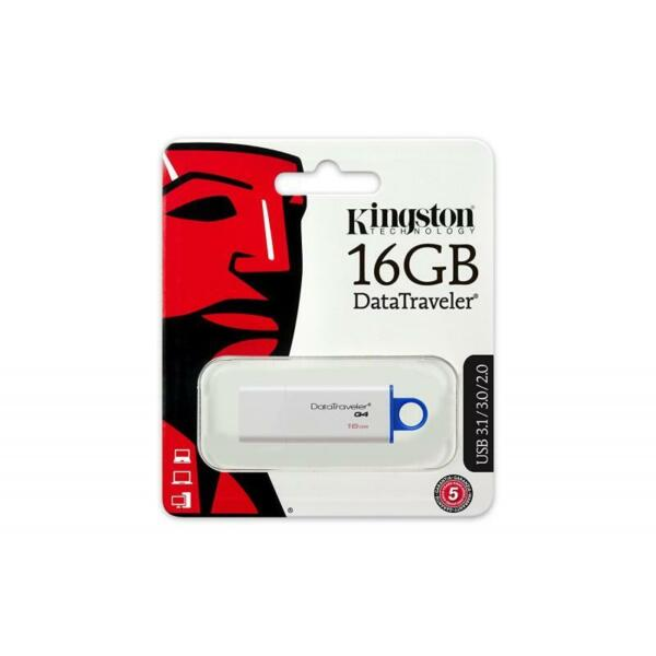PENDRIVE 16 GB DTIG4 3.0 DTIG4/16GB KINGSTON DATATRAVEL G4 USB 3.0 DTIG4/16gb