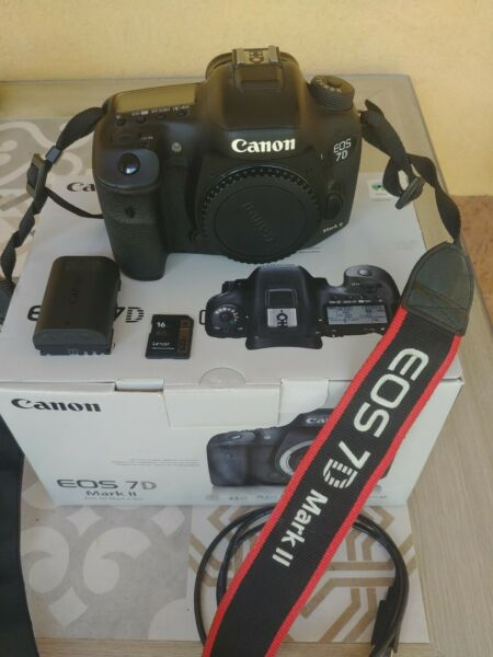 Canon EOS 7D Mark II + accessori