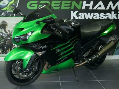 Kawasaki ZZR1400 (2012) with Akrapovic Exhausts, Heated Grips and Tail Tidy