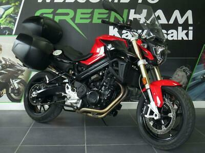 BMW F800R F 800 R (2017) with Topbox and Panniers + FSH
