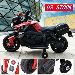 Kyпить 6V Battery Powered Red Kids Ride On Motorcycle 4 Wheel Bicycle Electric Toy Red на еВаy.соm