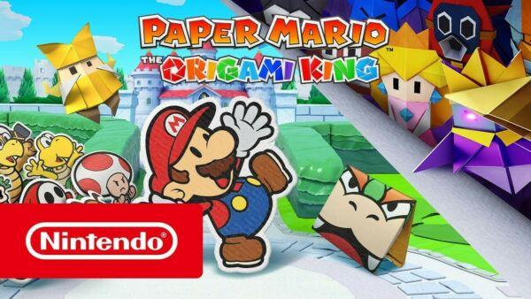 MARIO Paper Origami King NINTENDO SWITCH Nintendo Switch Lite/ Digitale - LEGGI