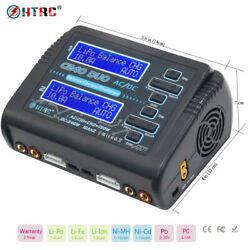 Kyпить HTRC AC 150W DC 240W Dual Channel RC Car Balance lipo battery Charger discharger на еВаy.соm