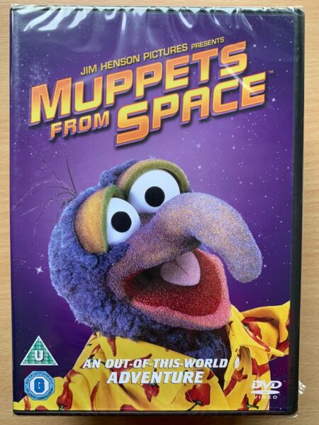 Royaume-UniMuppets From Space DVD 1999 Henson  Fonctionnalité Film Neuf en Boîte