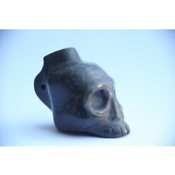 Kyпить 1st Nations Music Aztec Death Whistle black clay produces most frightening sound на еВаy.соm