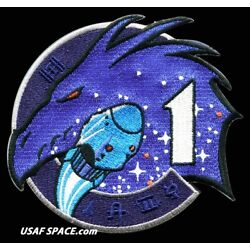 Kyпить Authentic SPACEX NASA CREW-1- USCV-1 Original AB Emblem ISS 4.25