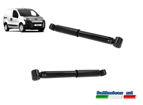 ItaliePair Rear Shock s Right/Left Peugeot Bipper Van / Sw 01/2008- >