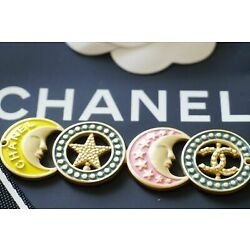 Kyпить One 1 Auth Chanel button 1 pcs  cc 7 cm  or 3 inch Emblem на еВаy.соm