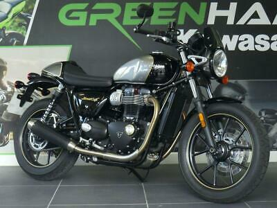 Triumph Street Cup 900 ABS Cafe Racer (2019) with Flat Bars and FSH